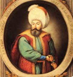 Osmanlı Devleti Kurucusu Osman Bey (Temsili)