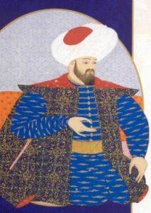 Osman Gazi'nin Minyatürü