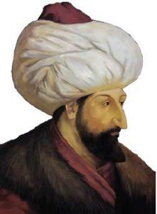 Fatih Sultan Mehmet, temsilî resim