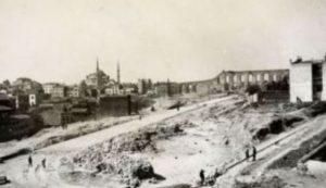 Saraçhane'nin Eski Bir Fotoğrafı