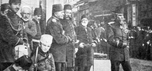 Harbiye Nazırı Mahmud Şevket Paşa