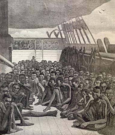 Gemilerle Amerika'ya Getirilen Zenci Köleler