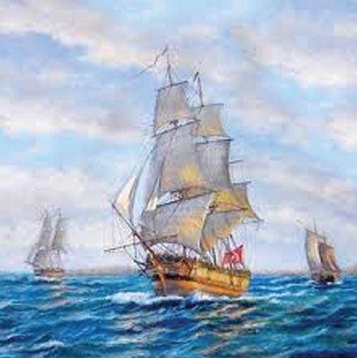 Bir Osmanlı Yelkenlisi