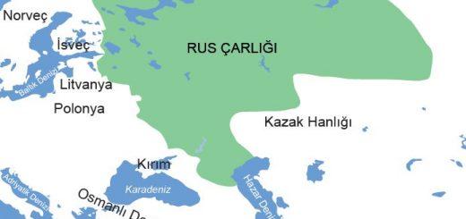 XVII. yüzyılda Rus Çarlığı