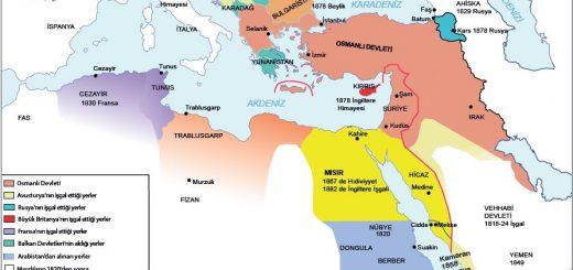 XIX. yüzyılda Osmanlı Devleti ve Avrupa siyasi haritası