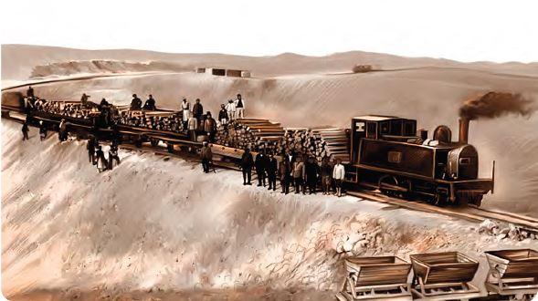 Bağdat Demir Yolu (temsilî)
