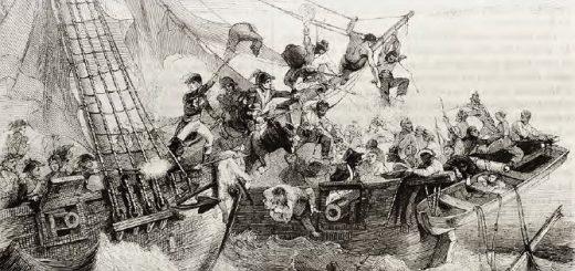 Deniz savaşı (temsilî)