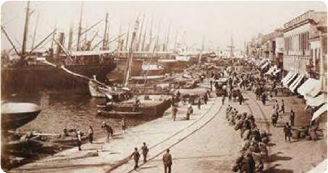 1840-1880 İzmir Limanı
