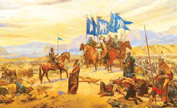 Malazgirt Savaşı (Temsilî)