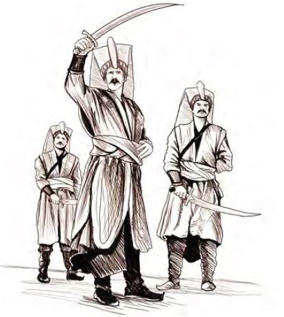 Yeniçeriler (temsilî)