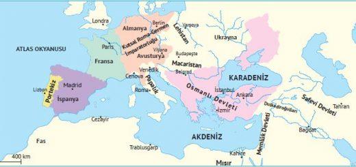 XVI. yüzyıl başında Avrupa ve Osmanlı Devleti
