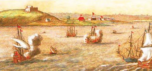 Batı Akdeniz'de bir deniz savaşı (Temsilî)
