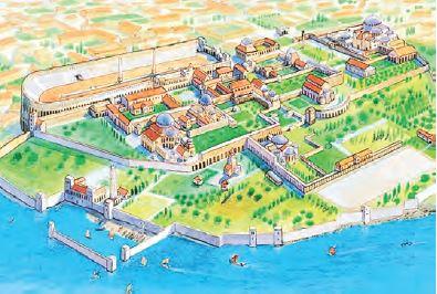 Bizans İmparatorluğu Dönemi'nde İstanbul (Temsilî)