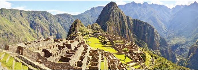 İnka medeniyetine ait harabeler (Peru)