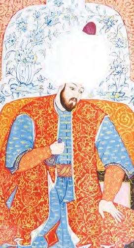 Kanuni Sultan Süleyman (Minyatür)