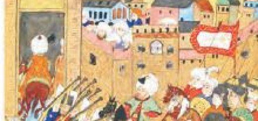 Osmanlı ordusunun Tebriz'e girişi (Minyatür)