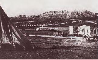 Kut'ül-Amâre'deki Türk Ordugâhı, 1915