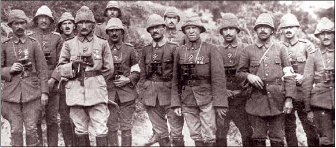 Mustafa Kemal Çanakkale savaşlarında, Gelibolu, 1915