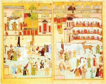 Şehzadelerin sünnet töreni (Minyatür)