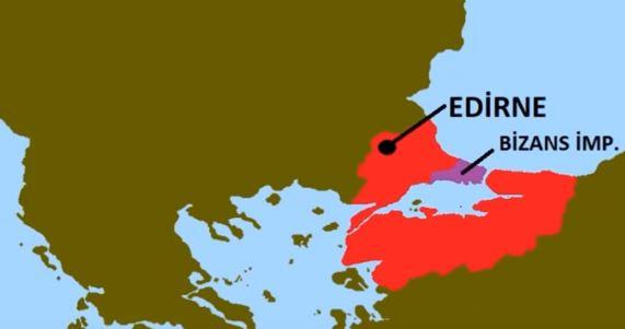 Edirne Fethiyle Bizans Sıkıştırılmıştır.