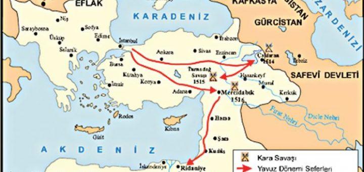 Yavuz Sultan Selim'in Seferleri