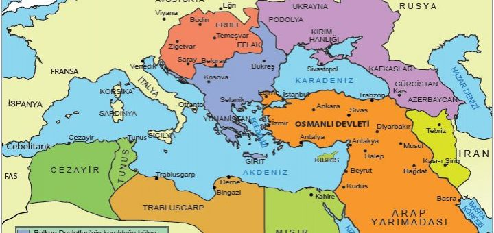 XX. yüzyıl başlarında Osmanlı Devleti