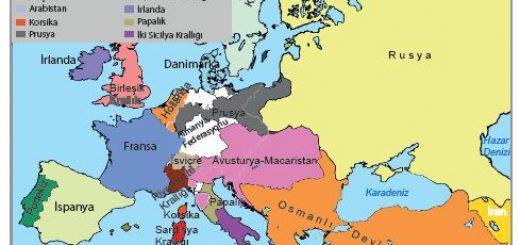 1815 Avrupa siyasi yapısı