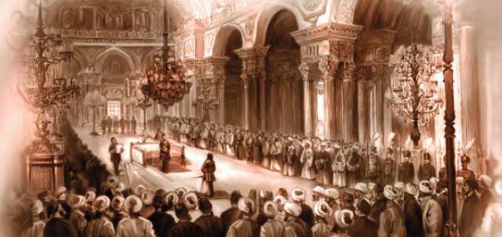 I. Meşrutiyet'in ilanı (temsilî)