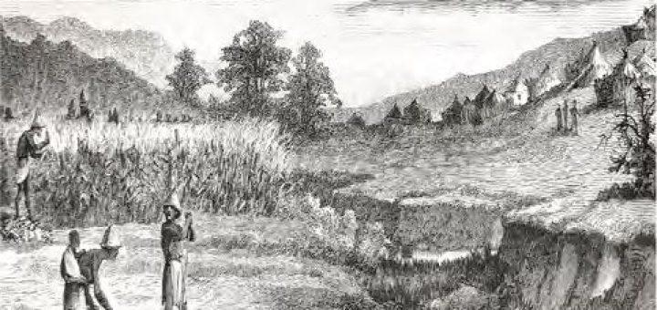 İlk Çağ ziraat üretimi (temsilî)