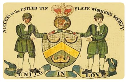 İngiltere ve İrlanda teneke üreticileri. Bilinen en eski reklam