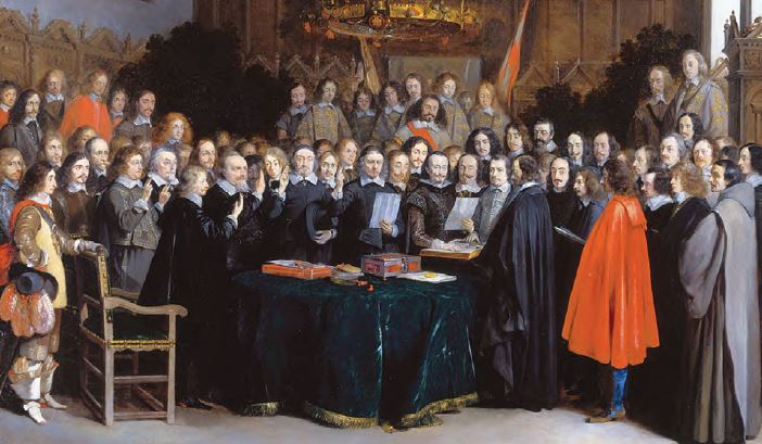 Westphalia Barışı (temsilî)
