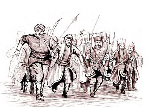 Yeniçeri İsyanı (temsilî)