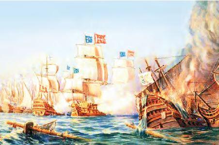 Osmanlı Portekiz deniz mücadeleleri (Temsilî)