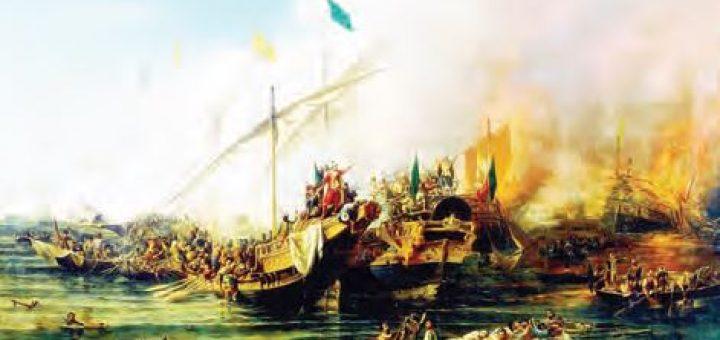 Akdeniz'i Türk Gölü hâline getiren Preveze Deniz Zaferi (Temsilî)