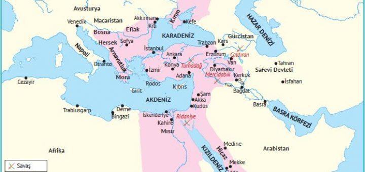 Yavuz Dönemi Osmanlı Devleti