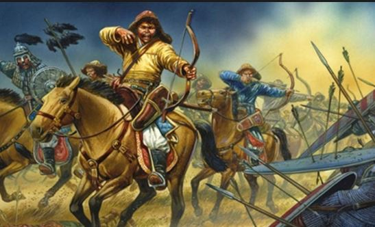 Moğol Askerleri (Temsili)